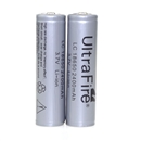 2 PCS LC 18650 2400mAh 3.7V 3.7volt LI-ION Rechargeable Battery