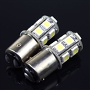 1156 BA15S Car SMD 13 LED White Light Bulb Tail Brake