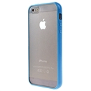 Hot Style Blue Bumper Skin Case With Clear Back Cover For iPhone 5 New iphone5