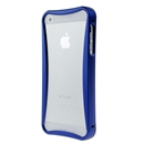 Blue Push-pull Aluminum Metal Skin Frame Bumper Case cover for Apple iPhone 5 5G New