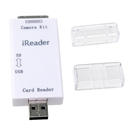 2 in 1 USB Camera Kit Card Reader for Apple iPhone/iPad/Smartphones