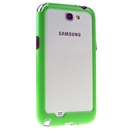 Green TPU Cover Case Black Bumper Cleave For Samsung Galaxy Note 2 GT-N7100