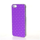 Purple Dazzling Diamond Hard Executive Case Cover for Apple iPhone 5 5G 5th Gen