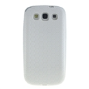 Extended Battery TPU Silicone Back Cover Case For SAMSUNG GALAXY S3 SIII i9300 White