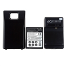 3500mAh Extended Battery + Charger for Samsung i9100 Galaxy S2 II Black