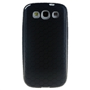 Extended Battery TPU Silicone Back Cover Case For SAMSUNG GALAXY S3 SIII i9300 Black