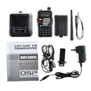 Original Baofeng Walkie Talkie BF BF-UV5RE 5W 128CH UHF+VHF FM 2-Way Radio