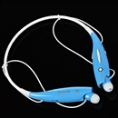 HV-800 Wireless Bluetooth Sports Headset Stereo Music Headset Universal Neckband for cellphones blue