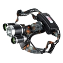 NEW 3x CREE XM-L T6 LED 5000Lm Rechargeable Headlamp Headlight Light Head lamp