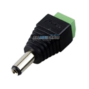 10 Pcs Brand New 5.5mm 2.1mm Male Converter Plug Adapter DC Power for CCTV Car Home LED
