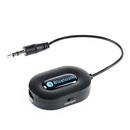 Bluetooth 3.0 Music Receiver 3.5mm Adapter Handsfree Car AUX Speaker BM-E9 Black