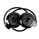 Wireless Bluetooth Stereo Headset Headphone Earphone for Samsung iPhone HTC LG black