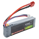 Lipo Battery 7.4V 2200Mah 25C MAX 40C T Plug for RC Car Airplane Heli