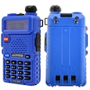 Blue BaoFeng UV-5R 136-174 400-520MHz Dual-Band DTMF CTCSS DCS FM ham 2way radio