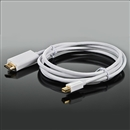 Mini DisplayPort DP to HDMI Adapter Cable Apple Macbook Thunderbolt 6FT white