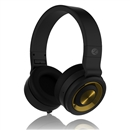Hifi Stereo Sound Headband Pro Gaming Headset w/Mic For PC Laptop Mobile 3.5mm Black Golden