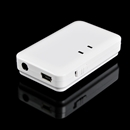 3.5mm Bluetooth A2DP Stereo Audio Hifi Dongle Transmitter Receiver Adapter white