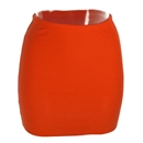 Fashion Women Lady Sexy Mini Skirt Slim  Stretch Tight Short Fitted Orange