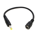 DC Plug Adapter Tip Cable 5.5mm 2.5mm Female to 4.0mm 1.7mm Male