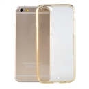 TPU Acrylic Gel Clear Crystal back cover bumper frame case for 4.7