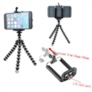 Mini Octopus Flexible Tripod Stand for GoPro Camera & iPhone Samsung Cell Phone