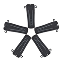 5X Belt Clip for BAOFENG Radios H777 BF-666S BF-777S BF-888S BF-999S Black