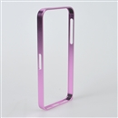 Purple Ultra Thin Slim Aluminium Metal Bumper Frame Case Cover For iPhone 5 5G 5S