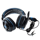 BK SADES SA-810 Stereo Headphone Hi-fi Shocke Speakers And Mic With Large 40mm