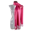 9 Colors Candy Colors Women Girls Pashmina Scarf Cashmere Feel Shawl Stole Wrap Rose Pink