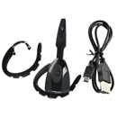 Wireless Bluetooth Gaming Headset Headphone For Sony PS3 Samsung iPhone HTC PC