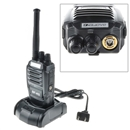 UHF 5W 16CH Baofeng BF-K5 Scrambler Portable Two-Way Radio Black Walkie Talkie