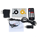 Car Telecontrol Tape Cassette SD MMC MP3 Player Adapter Kit W/ Remote Control