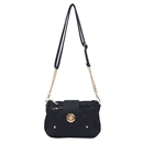 Black Ustyle Women Handbag Lady Envelope Clutch Shoulder Chain Tote Bag Purse