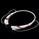 White and Red Wireless Bluetooth 4.0 Headset Sports Stereo Headphone For iPhone Samsung LG