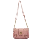 Pink Ustyle Women Handbag Lady Envelope Clutch Shoulder Chain Tote Bag Purse