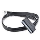 12V 5V Power eSATA USB 2.0 Combo to 22 Pin SATA Adapter Cable for 2.5 3.5 inch