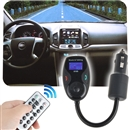 Car Kit Stereo Bluetooth FM Transmitter MP3 Player LCD for iPhone 5S 5 5C 4S 4 6