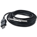3M Guitar Bass 1/4Inch 6.3mm Jack To USB Link Connection Instrument Cable Adapter