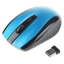 Blue 2.4GHz Wireless Optical Mouse/Mice + USB 2.0 Receiver for PC Laptop