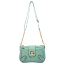 Green Ustyle Women Handbag Lady Envelope Clutch Shoulder Chain Tote Bag Purse