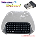 Xbox One Mini Wireless Chatpad Message Text Keyboard for XboxOne Controller 2.4G