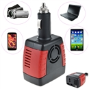 150W Car Power Inverter Charger Adapter 12V DC To 110V AC+USB 5V