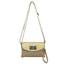 Gold Ustyle ladies Rotary button Shoulder bag Satchel Messenger Tote Handbags