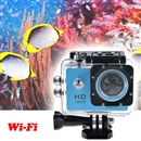 12MP Full HD 1080P Helmet Sports Action Waterproof Car Camera WiFi SJ4000 blue