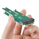 mSATA Mini PCI-E 3.0 SSD to NGFF M.2 B (SATA interface) adapter card TS