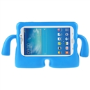 Foam Shockproof Cartoon Kids Tablet Cover Case for 7 Inch Samsung Galaxy Tab3  blue