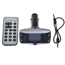Bluetooth LCD Car Kit MP3 Player FM Transmitter Modulator SD MMC USB Remote