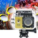 SJ4000 12MP Full HD Waterproof Bicycle Sport Action DV Camera Camcorder Yellow