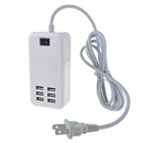 30 Watts 6 Port USB Wall Charger Multi Port for USB-Powered Devices Universal