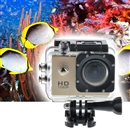 SJ4000 12MP Full HD Waterproof Bicycle Sport Action DV Camera Camcorder Golden